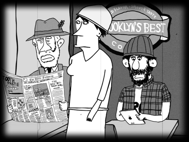 Animated Editorial Cartoon: How to Save Newspapers!