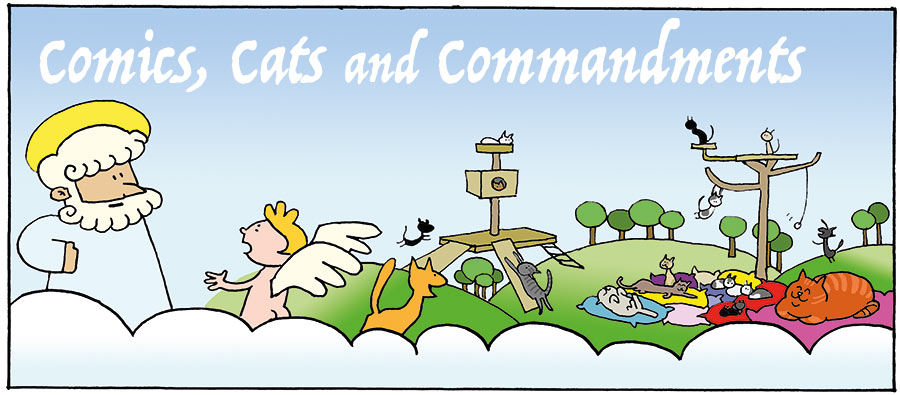 Comics, Cats and Commandments