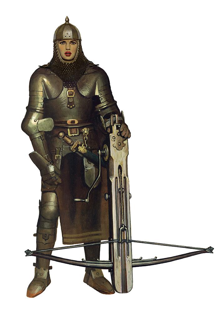 Fantasy Art Mercenary Portrait