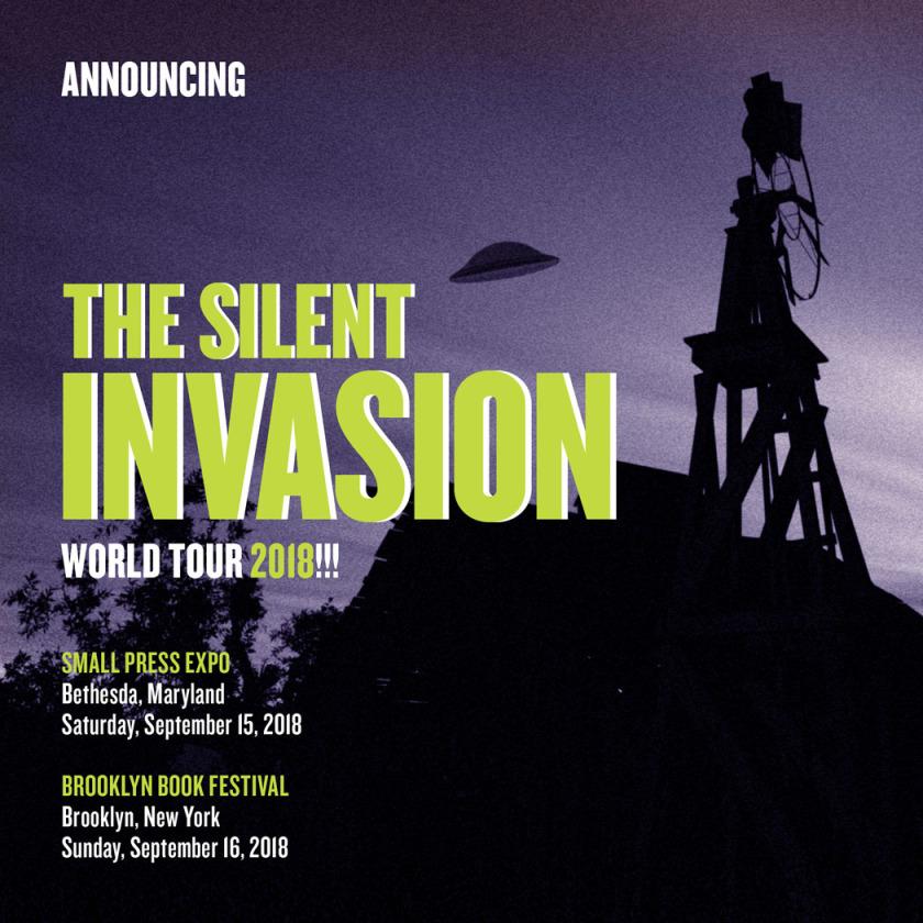 The Silent Invasion – Larry Hancock at FanExpoCanada