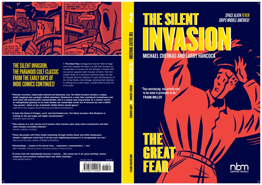 The Silent Invasion: The Great Fear full cover