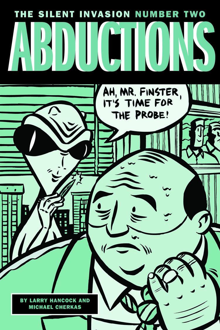 Abductions mini comic cover