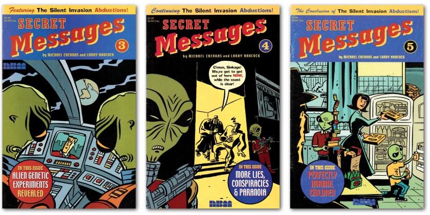 Secret Messages covers_3-4-5