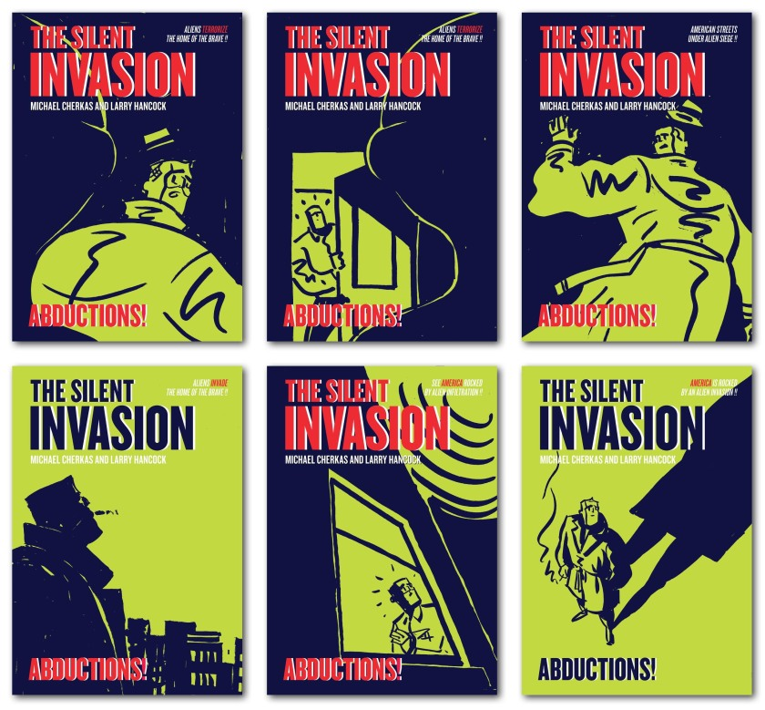 Abductions Cover layouts