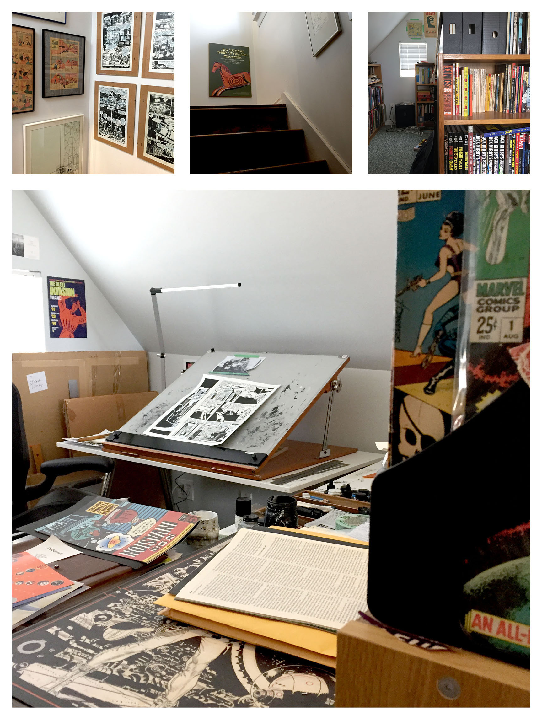 The artists studio post_01