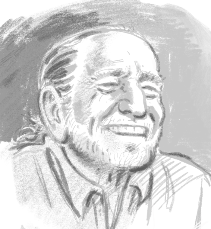 Willie BW Sketch