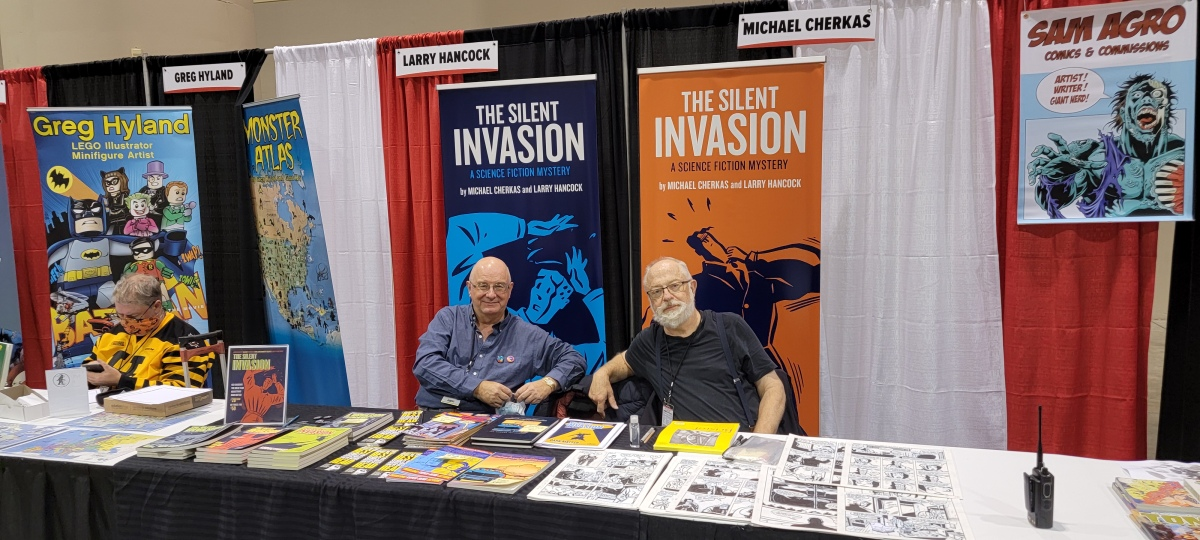 The Silent Invasion at Fan Expo Canada2021